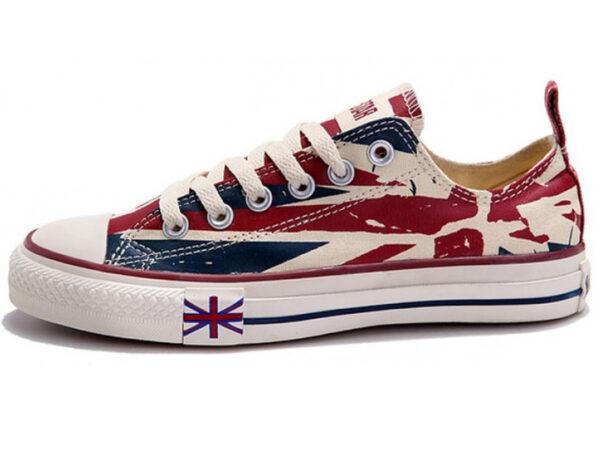 Кеды Converse Chuck Taylor All Star с британским флагом