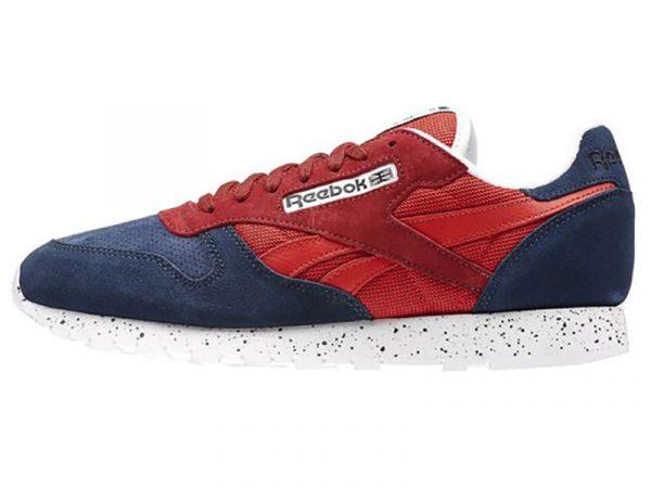 Кроссовки Reebok Classic женские красно-синие