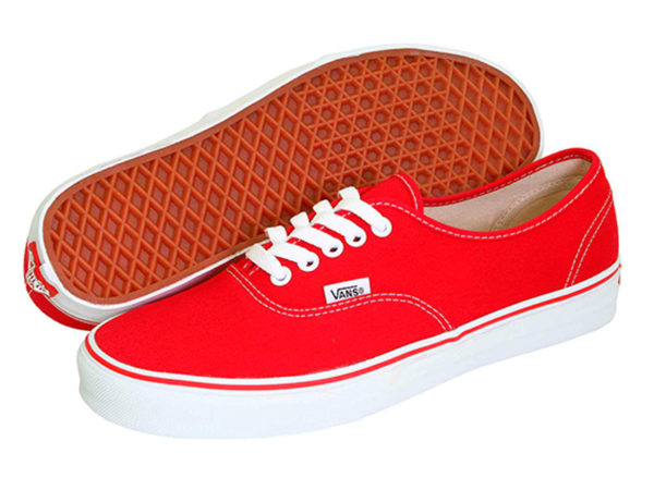Vans Authentic красные (35-41)
