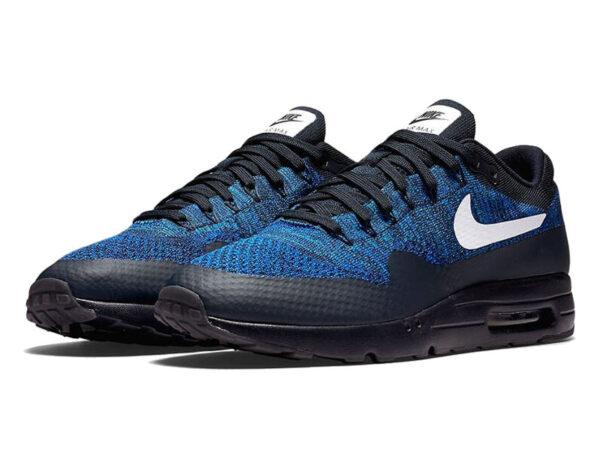 Nike Air Max 87 синие с черным (40-45)