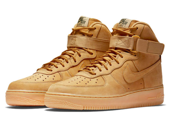 Nike Air Force 1 Mid песочные (40-45)
