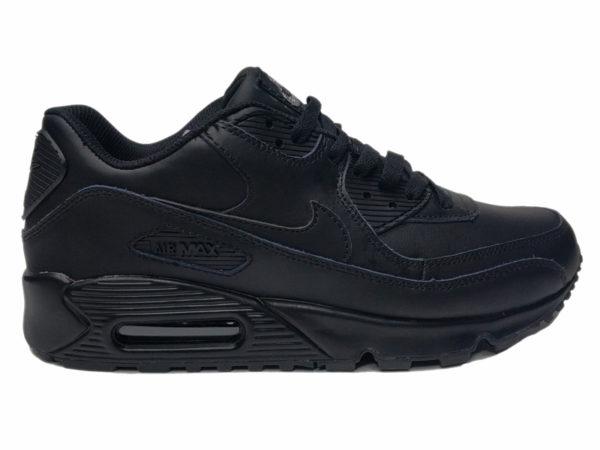 Nike Air Max 90 на меху черные (40-46)