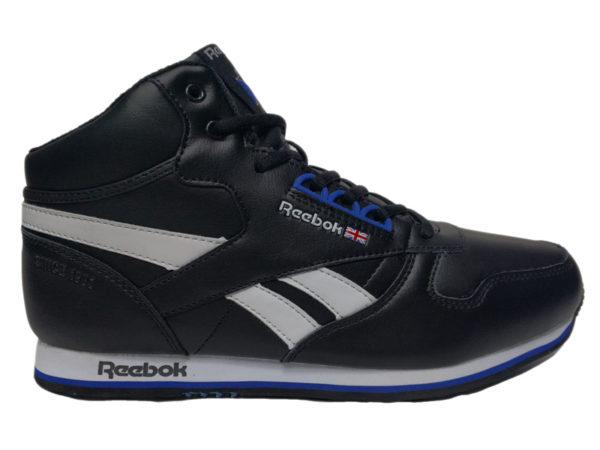 Зимние Reebok Classic Leather черные