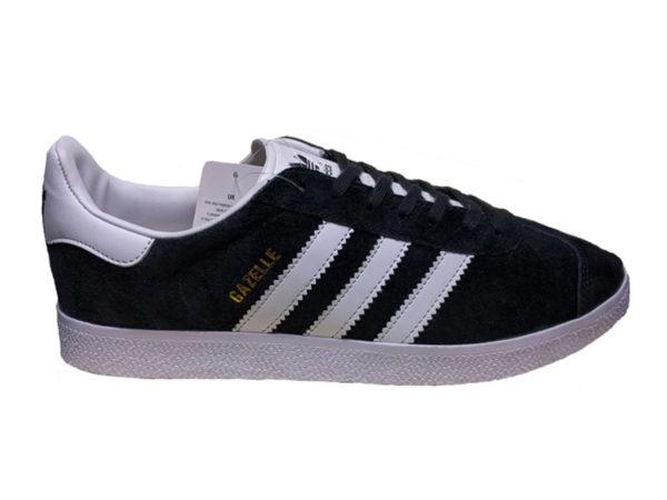 Adidas Gazelle черные с белым (35-45)
