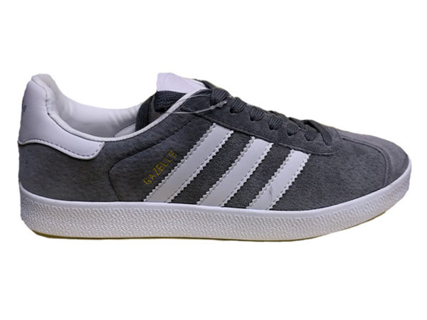 Adidas Gazelle серые с белым (35-45)