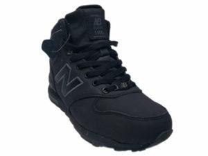 Зимние New Balance 1400 Mid черные - фото спереди