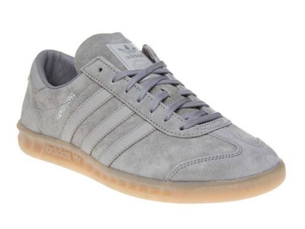 Adidas Hamburg серые