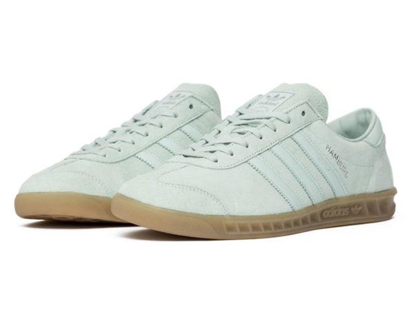 Adidas Hamburg белые (35-40)