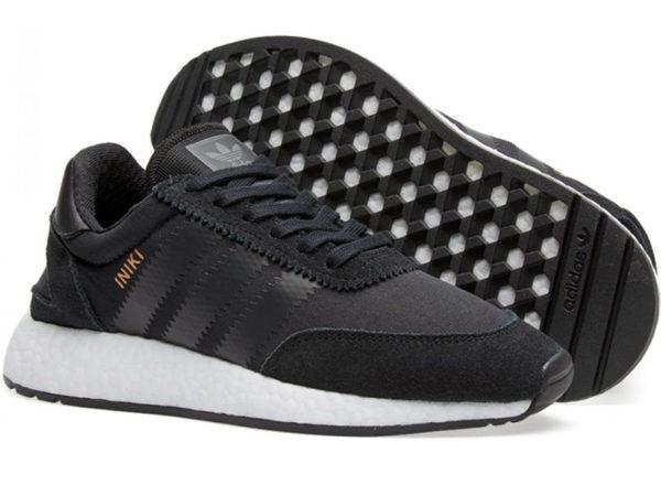 Adidas Iniki Runner Boost черные (40-45)