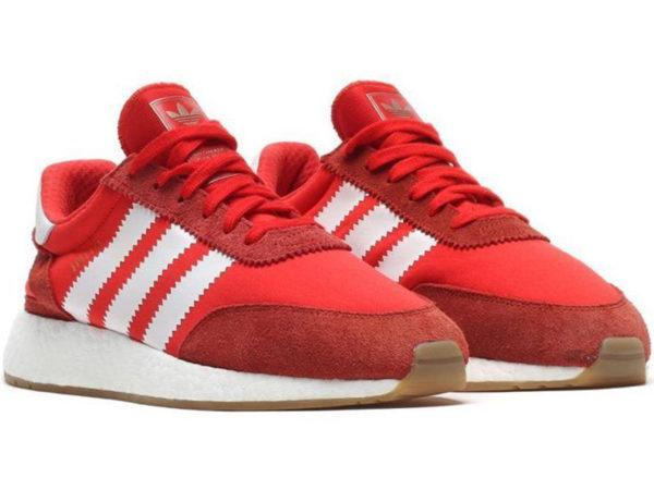 Adidas Iniki Runner Boost красные (40-45)