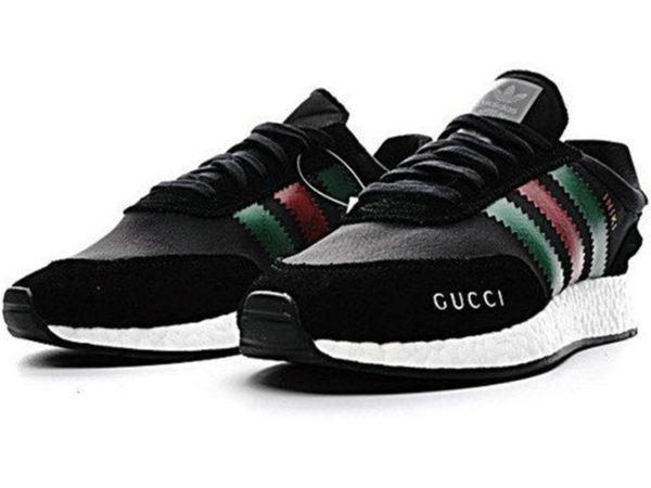 Adidas Iniki Runner x Gucci черные (40-45)