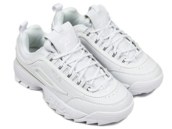 Fila Disruptor 2 All White (35-45)