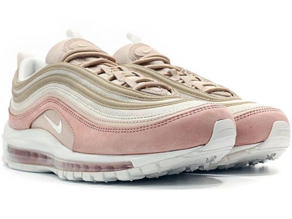 Nike Air Max 97 бежевые с розовым (35-40)