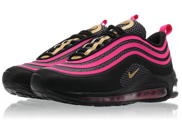 Nike Air Max 97 LX Swarovski черно-фиолетовые