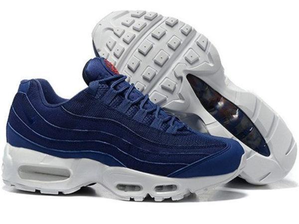 Nike Air Max 95 x Stussy синие с белым (40-45)
