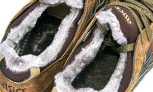 Зимние Asics Gel Lyte 5 с мехом Brown коричневые 40-45