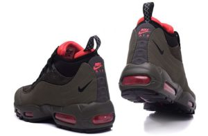 Зимние Nike Air Max 95 Sneakerboot хаки (40-45)