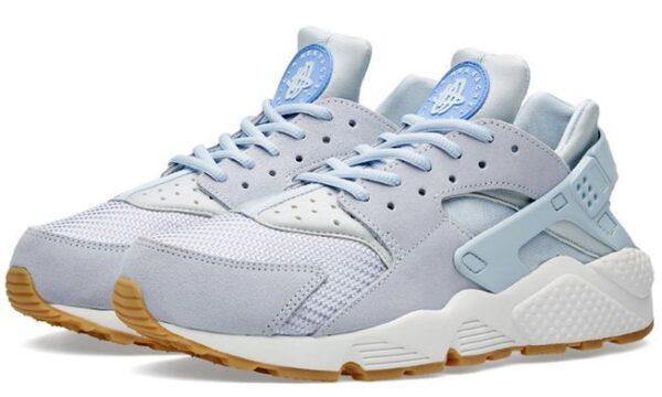 Nike Air Huarache TXT голубые (35-39)