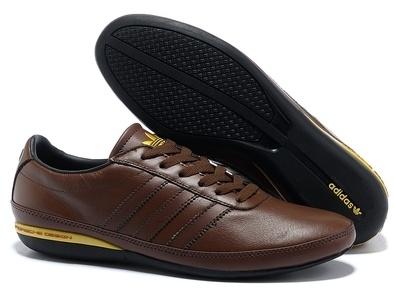 Adidas Porsche Design S3 leather коричневые (40-45). Адидас порше дизайн с3