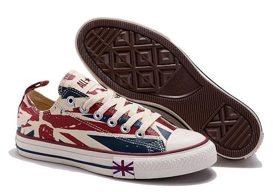 Converse All Star низкие британский флаг (35-39). Конверс Ол Стар