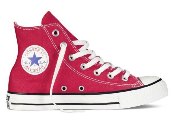 Бордовые кеды Converse