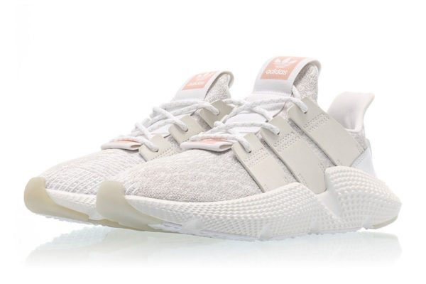 Adidas Prophere White Grey белые с серым и бежевым (35-44)