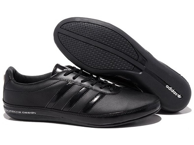 Adidas Porsche Design S3 leather black черные (40-45)