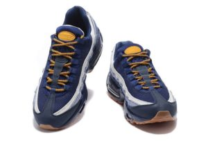 Nike Air Max 95 Premium белые с синим (41-45)