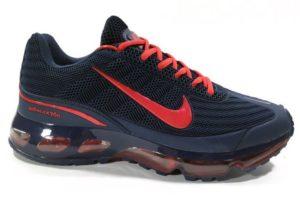 Nike Air Max 360 синие с красным (40-45)