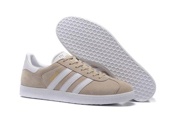 Adidas Gazelle бежевые женские (35-39)
