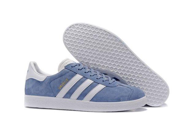 Adidas Gazelle голубые