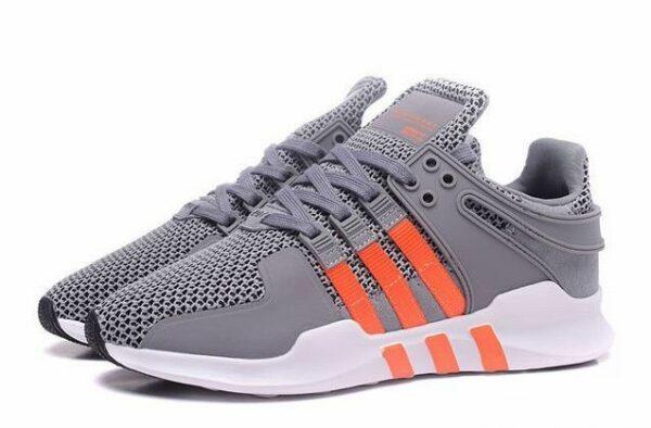 "Adidas EQT Support ""ADV"" серые с оранжевым (35-39)"