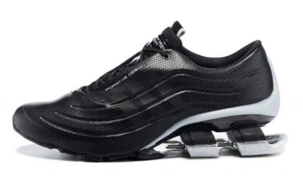 Adidas Porsche Design P5000 S4 Leather черные с серым (39-44)