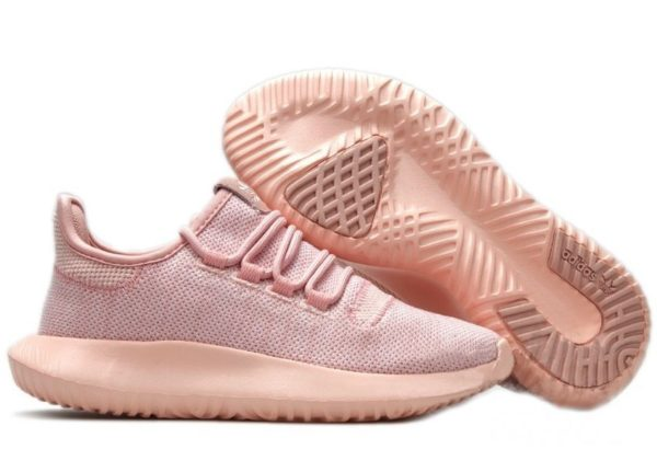 Adidas Tubular Shadow Knit розовые (35-39)