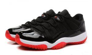 Nike Air Jordan 11 Retro черные с красным (40-45)