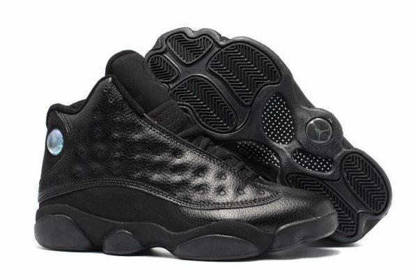 Nike Air Jordan 13 Retro All Black черные (40-45)