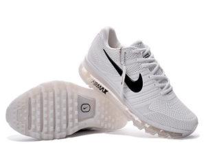 Nike Air Max 2017 с сеткой белые (40-45)