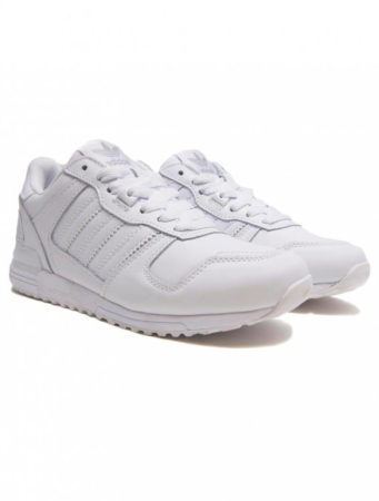 Adidas ZX 700 white leather мужские (40-45)