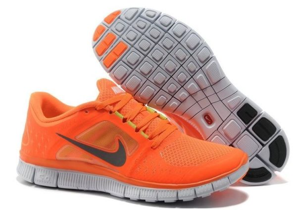 Nike Free Run 5.0 V3 оранжевые (35-39)
