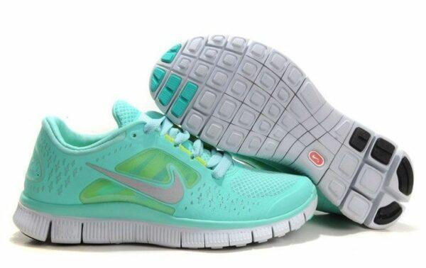 Nike Free Run 5.0 V3 бирюзовые (35-39)