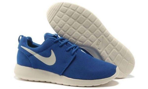 Nike Roshe Run синие (35-39)