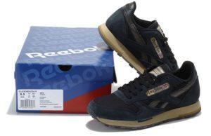 Reebok Classic Leather Utility темные-синие (39-44)