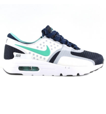 Nike Air Max Zero (Gren/White) зелёные с белым (40-44)