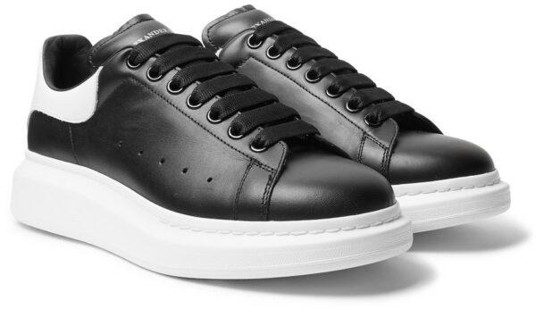 Кожаные кроссовки 39 размера