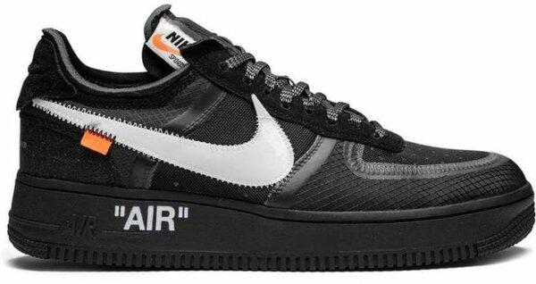 Nike Air Force 1 x Off White Black черные (40-44)