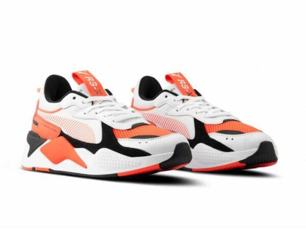 Оранжевые женские кроссовки
