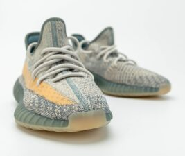 Adidas Yeezy Boost 350 V2 Static серо-голубые (35-44)