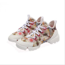 Dior D-Connect Flowers бежевые (35-39)