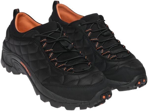 Merrell Ice Cap Moc II черные с оранжевым мужские (40-44)