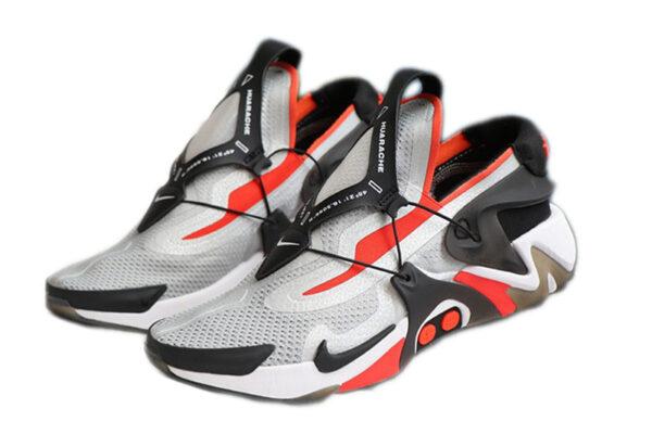 Nike Adapt Huarache бело-красные с черным (40-44)